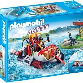 Playmobil Playmobil - Hovercraft met onderwatermotor (9435)