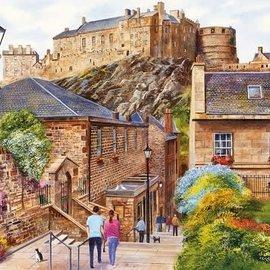 Gibsons Gibsons puzzel Edinburgh - The Vennel (1000 stukjes)