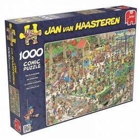 Jumbo Jan van Haasteren puzzel - De speeltuin (1000 stukjes)