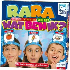 Clown Games Clown Games Rara wat ben ik? - Junior