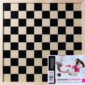 Longfield Longfield schaak-/dambord 40x40cm.