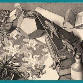 Puzzelman Puzzelman puzzel Reptielen - Escher (1000 stukjes)