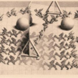 Puzzelman Puzzelman Toverspiegel - Escher (1000 stukjes)