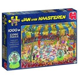 puzzel Jan van Haasteren - Acrobaten Circus (1000 stukjes)
