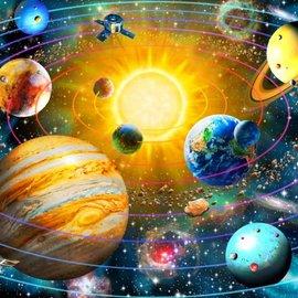 Bluebird puzzel Ringed Solar System (1500 stukjes)