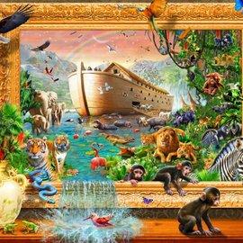 Bluebird puzzel Noah's Ark Framed (1500 stukjes)