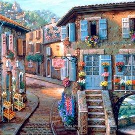Bluebird Bluebird puzzel Le Fleuriste (1000 stukjes)