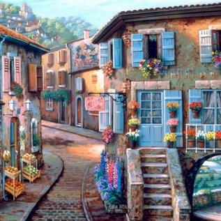 Bluebird puzzel Le Fleuriste (1000 stukjes)