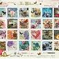 Art Puzzle Collage von Briefmarken (500 stukjes)