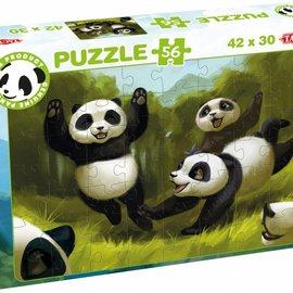 Tactic Selecta Tactic Puzzel Panda (56 stukjes)