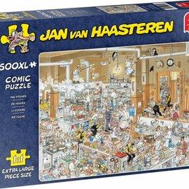 Jumbo Jan van Haasteren - De keuken (500 XL stukjes)