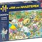 Jumbo Jan van Haasteren - Kamperen in het bos (2000 stukjes)