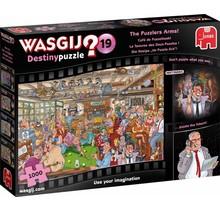 Wasgij puzzel Destiny 19 - Cafe de Puzzelhoek (1000 stukjes)