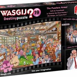 Jumbo Wasgij puzzel Destiny 19 - Cafe de Puzzelhoek (1000 stukjes)