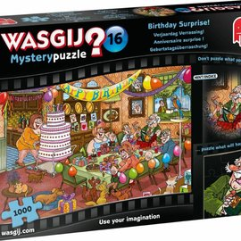 Jumbo Wasgij puzzel Mystery 16 - Verjaardag Verrassing! (1000 stukjes)