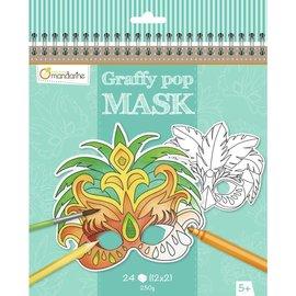 Mandarine Mandarine Graffy Pop Mask Rio