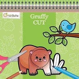 Mandarine Mandarine Graffy Cut Kleuren en knippen