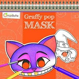 Mandarine Mandarine Graffy Pop Mask  Halloween