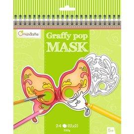 Mandarine Mandarine Graffy Pop Mask Venetië