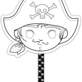 Mandarine Mandarine Graffy Stick Masker Piraat