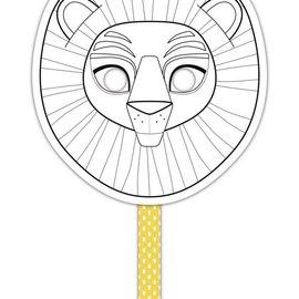 Mandarine Mandarine Graffy Stick Masker Leeuw