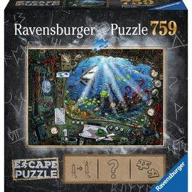 Ravensburger Ravensburger Escape puzzel In de onderzeeër (759 stukjes)