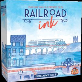 WhiteGoblinGames WGG Railroad Ink: Diepblauwe versie