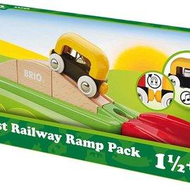 Brio Brio 33728 Mijn eerste spoorweghelling pakket
