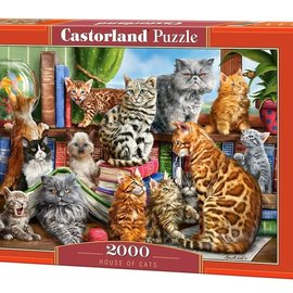 Castorland Castorland  House of cats (2000 stukjes)