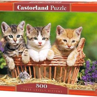 Castorland Castorland Three lovely kittens (500 stukjes)