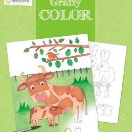 Mandarine Mandarine Graffy Cook Kleurboek - Boerderij