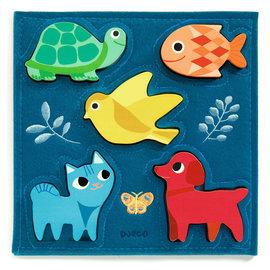 Djeco Djeco 1057 Relief Puzzle - Gataki
