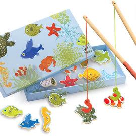 Djeco Djeco 1652 Hout met magneten - Tropische vissen