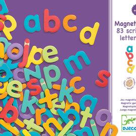 Djeco Djeco 3102 wooden magnetic - 83 script letters