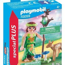 Playmobil Playmobil - Nimf met hertenkalf (70059)