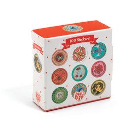 Djeco Djeco 3703 Stickers Aurelia 100 stuks