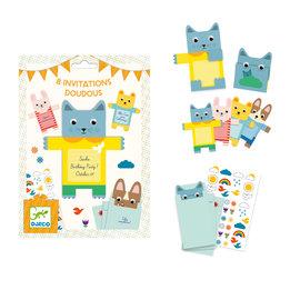 Djeco Djeco 4780 Uitnodigingskaarten Cuddy Toy (NL)
