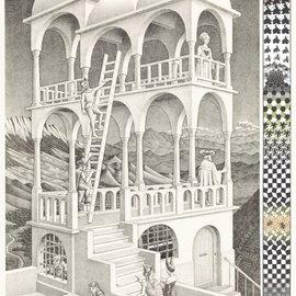 Puzzelman Puzzelman puzzel Belvedere - Escher (1000 stukjes)