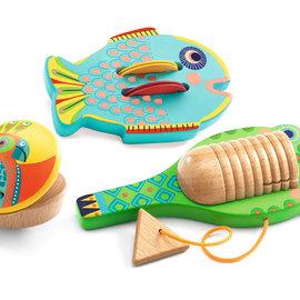 Djeco Djeco 6020 ANIMAMBO - set van 3 percussies