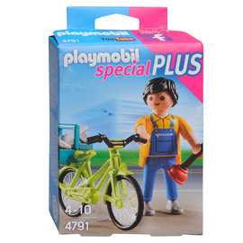 Playmobil Playmobil - Klusjesman met fiets (4791)
