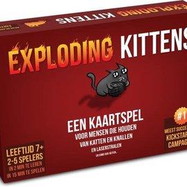 Spellen diverse Exploding Kittens Originele editie (NL)