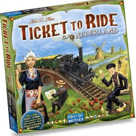 Days of Wonder Ticket to Ride Nederland (uitbreiding)