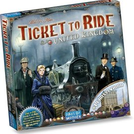 Days of Wonder Ticket to Ride United Kingdom/Pennsylvania (uitbreiding)
