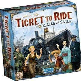 Days of Wonder Ticket to Ride Rails + Sails