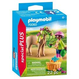 Playmobil Playmobil - Meisje met pony (70060)