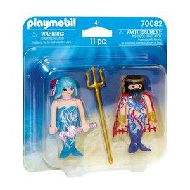 Playmobil Playmobil - Duopack Zeekoning en meermin (70082)