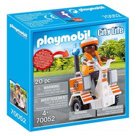 Playmobil Playmobil - Eerste hulp balans racer (70052)