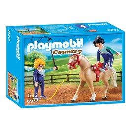 Playmobil Playmobil - Voltigeteam met paard (6933)