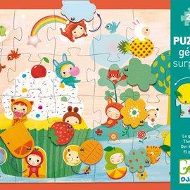Djeco Djeco 7012 Reuzen puzzel - De cake