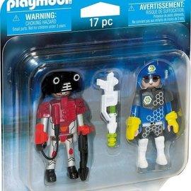 Playmobil Playmobil - Duopack Ruimteagent en Robot (70080)